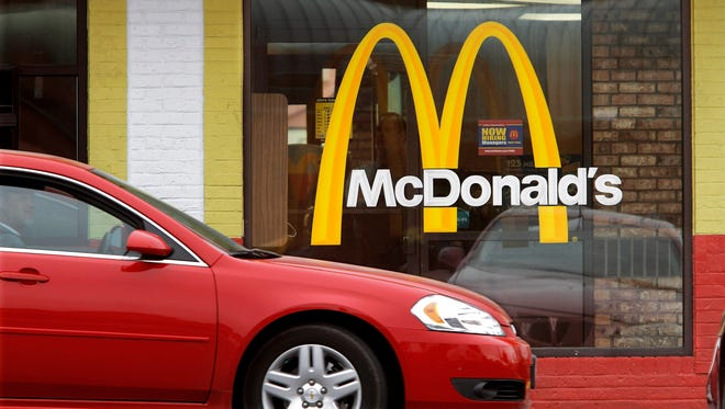 A McDonald's in Springfield, Ill.