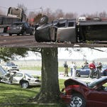 Hamilton County saw about 7,000 crashes last year, according to a study of 2013 accidents by the Indiana University Public Policy Institute, the Indiana Criminal Justice Institute and the School of Public and Environmental Affairs at Indiana University-Purdue University Indianapolis.<br /> Thirteen of those crashes were fatal, a 62.5 percent increase from 2012. About 2,200 of the total crashes happened at intersections.Indianapolis Star reporter Kristine Guerra has compiled this list of the most accident-prone intersections in Hamilton County.