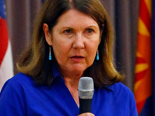 Staffers are defending the response of Sen. John McCain and Congresswoman Ann Kirkpatrick (pictured) to allegations from Dr. Sam Foote about VA care.