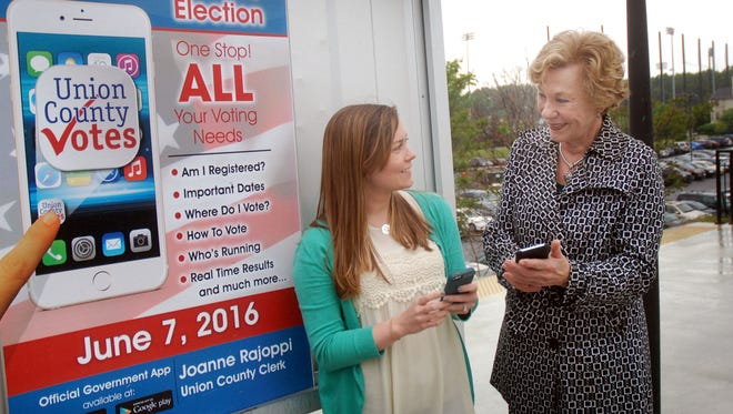 Clerk Joanne Rajoppi created Union County Votes in 2014 to help connect the public with critical information about voting and elections.