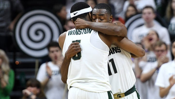 Couch: 3 quick takes on Michigan State's 81-61 Big Ten title-clinching win over Illinois