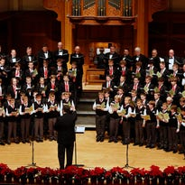 The Appleton Boychoir, here performing at the Lawrence Memorial Chapel in December, has a long history in the Fox Valley. The newly created Young Men's Chorus will give those boys an opportunity to continue singing after their voices have outgrown the Boychoir.