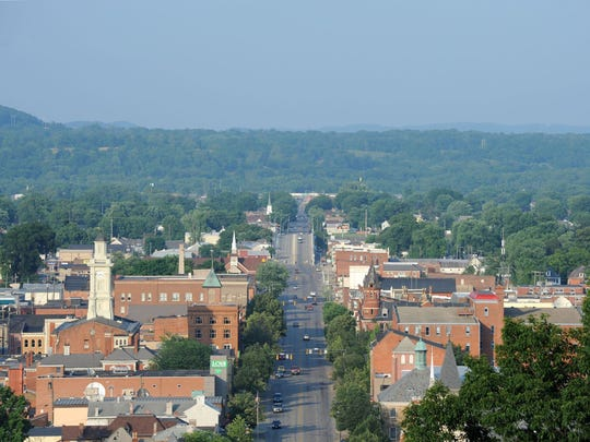A view of downtown Chillicothe.