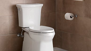 Kohler Co. is introducing a new toilet with flushing technology the company claims brings a cleaner bowl.