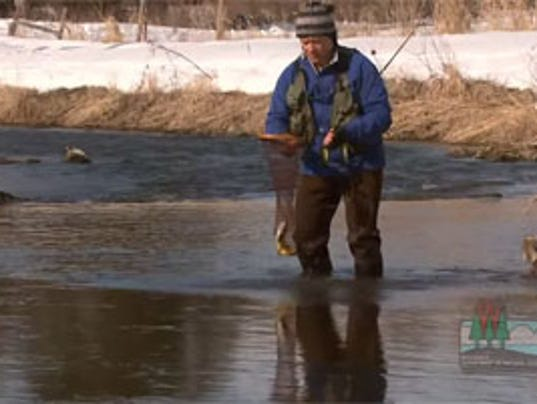 Dnr state 39 s best trout waters remain free of ice for Wi fishing season