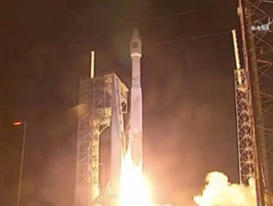 Rocket blasts off with fresh supplies for space station for Space station usa