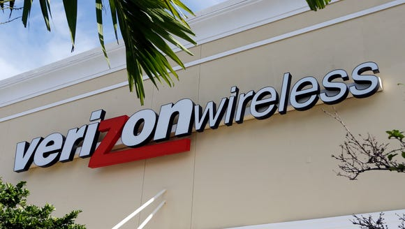 Verizon Wireless service to some rural Montana customers,