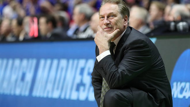 Michigan State coach Tom Izzo Friday addressed the FBI probe into college basketball corruption. Izzo, known as a clean coach, has been battling all sorts of programs for top recruits for three decades.