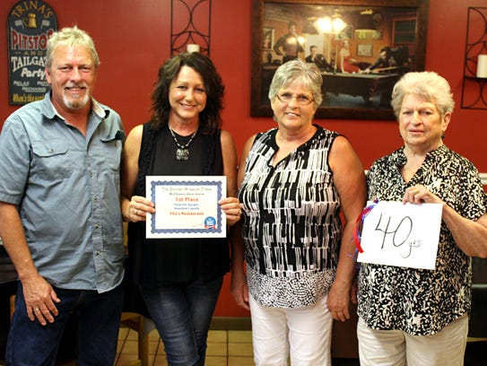 Fitz's owners Billy and Trina Ross celebrate 40 years