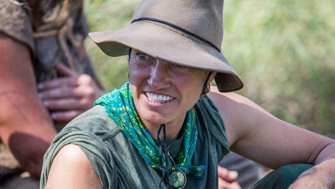 TANZANIA, AFRICA - Jessie Krebs, ex-special forces instructor, was one of 13 to finish the trek. (Photo Credit: National Geographic Channels/ Ian & Natasha Dray)