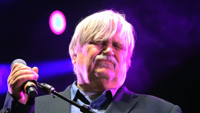 """Col. Bruce Hampton performs at """"Hampton 70,"""" his all-star jam celebration of his 70th birthday on Monday, May 1, 2017, at the Fox Theatre in Atlanta.  Hampton died after collapsing on stage at the end of the the star-studded birthday concert in his honor, authorities said."""