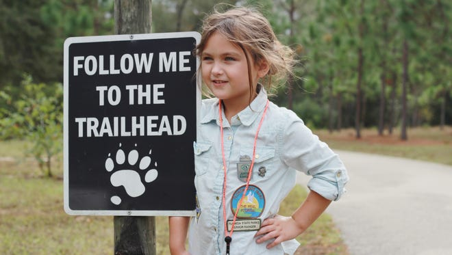 """Tiffany Bright's """"On the Trail"""" was the Forest Service's Photo of the Year. It was taken at Lake Talquin State Park."""