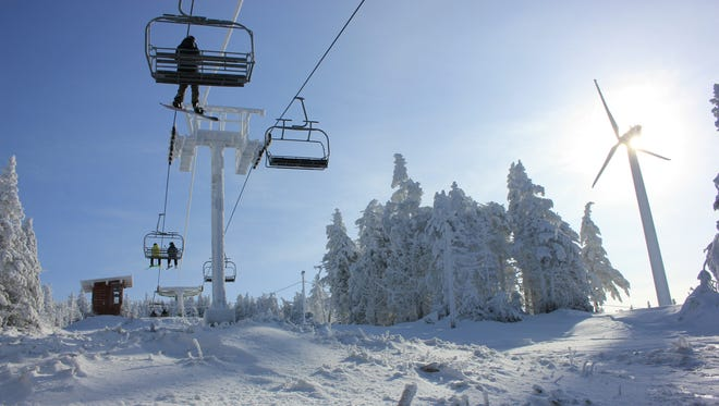 Bolton Valley Ski Resort on Dec. 30.
