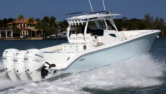 The 7Oceans 40FS7 can be checked out at the Palm Beach International Boat Show Thursday through Sunday with United Yacht Sales, Ramp 6, Slip 29.