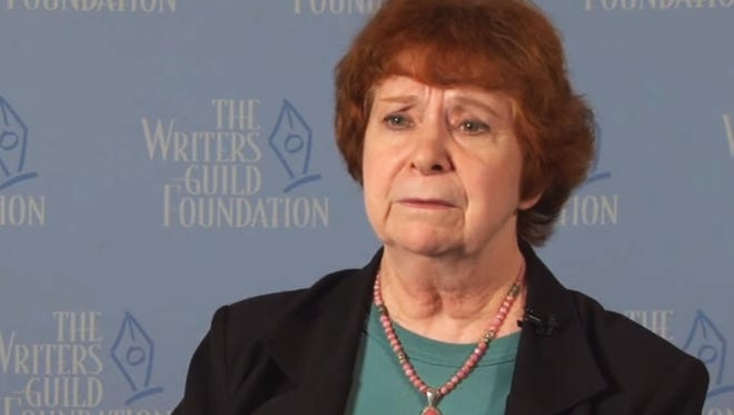 D.C. Fontana being interviewed in 2012 for The Writer Speaks series. Credit the