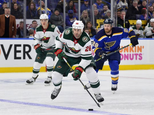 NHL: Minnesota Wild at St. Louis Blues