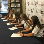 Worcester Prep athletes make college decisions