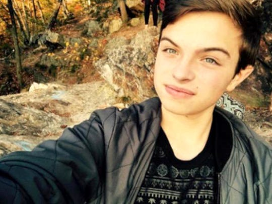 Dylan Gross is shown in a selfie. The 18-year-old with a huge personality died recently from a heroin overdose.