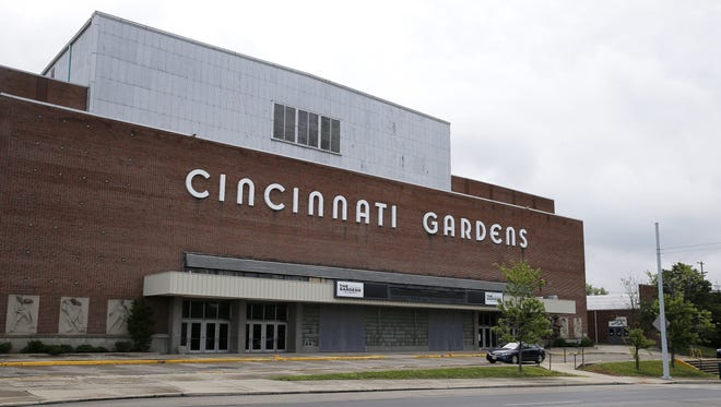 The Port of Greater Cincinnati Development Authority has entered a contract to buy the Cincinnati Gardens at 2250 Seymour Ave in Bond Hill. The venue's current owner, Cincinnati Gardens LLC, would sell a nearly 20-acre property that features the main arena, an adjacent skating center, and three parking lots. When the Gardens opened in 1949, it had a seating capacity of 11,000 and was the nation's seventh-largest indoor stadium. Photo shot Wednesday June 15, 2016.