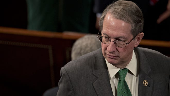 Rep. Bob Goodlatte, R-Va. and chairman of the House Judiciary Committee, at the U.S. Capitol in Washington, D.C., on Jan. 3, 2017.
