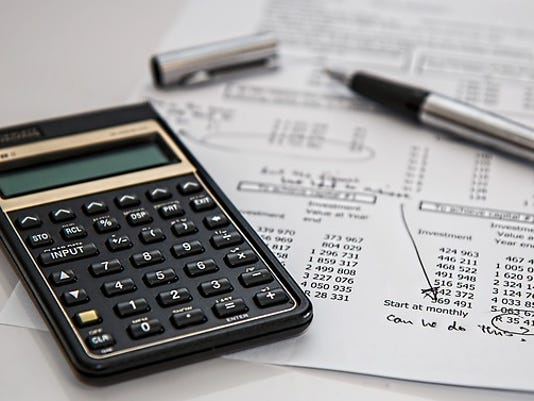Personal finances calculator