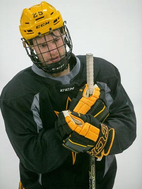Senior Liam Norris gave ASU hockey a 2-1 lead Friday in its first NCAA game, but the Sun Devils lost 3-2 in overtime at Alaska Anchorage.