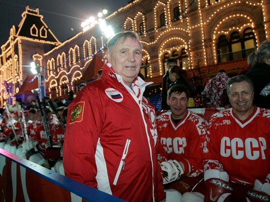 It was Viktor Tikhonov's Soviet team that lost to an upstart Team USA in the 1980 Olympic medal-round game we know as the Miracle on Ice.