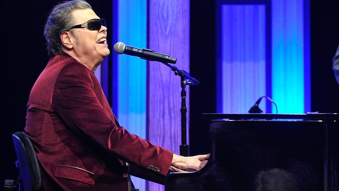 Ronnie Milsap performs during  Joe Galante's roast at the Grand Ole Opry House. Tuesday Feb. 10, 2015, in Nashville, TN