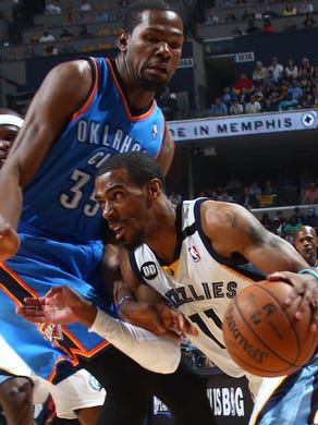 May 11, 2013 -  Memphis Grizzlies guard Mike Conley
