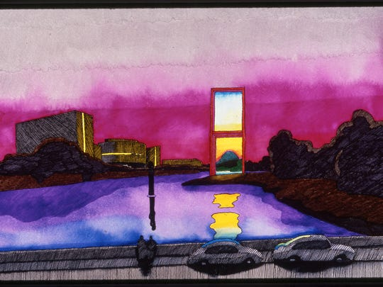 """Design rendering by Jan Sawka for """"The Window of Hope"""""""