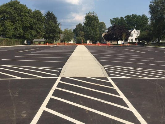 Lincoln Street Front Parking Lot 9 1 2015