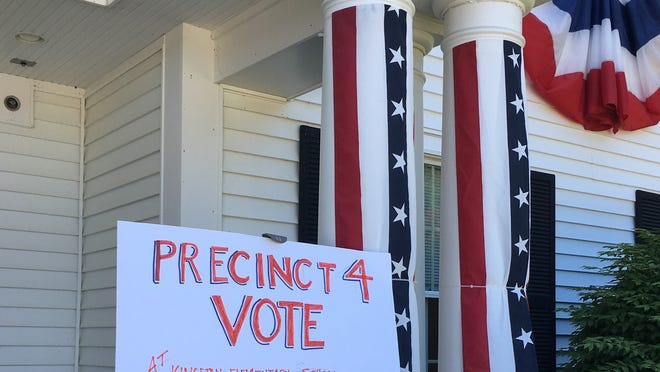 All four precincts will be voting at Kingston Elementary School in the recall election and annual town election with the polls open from 8 a.m. to 6 p.m. Saturday, June 27.