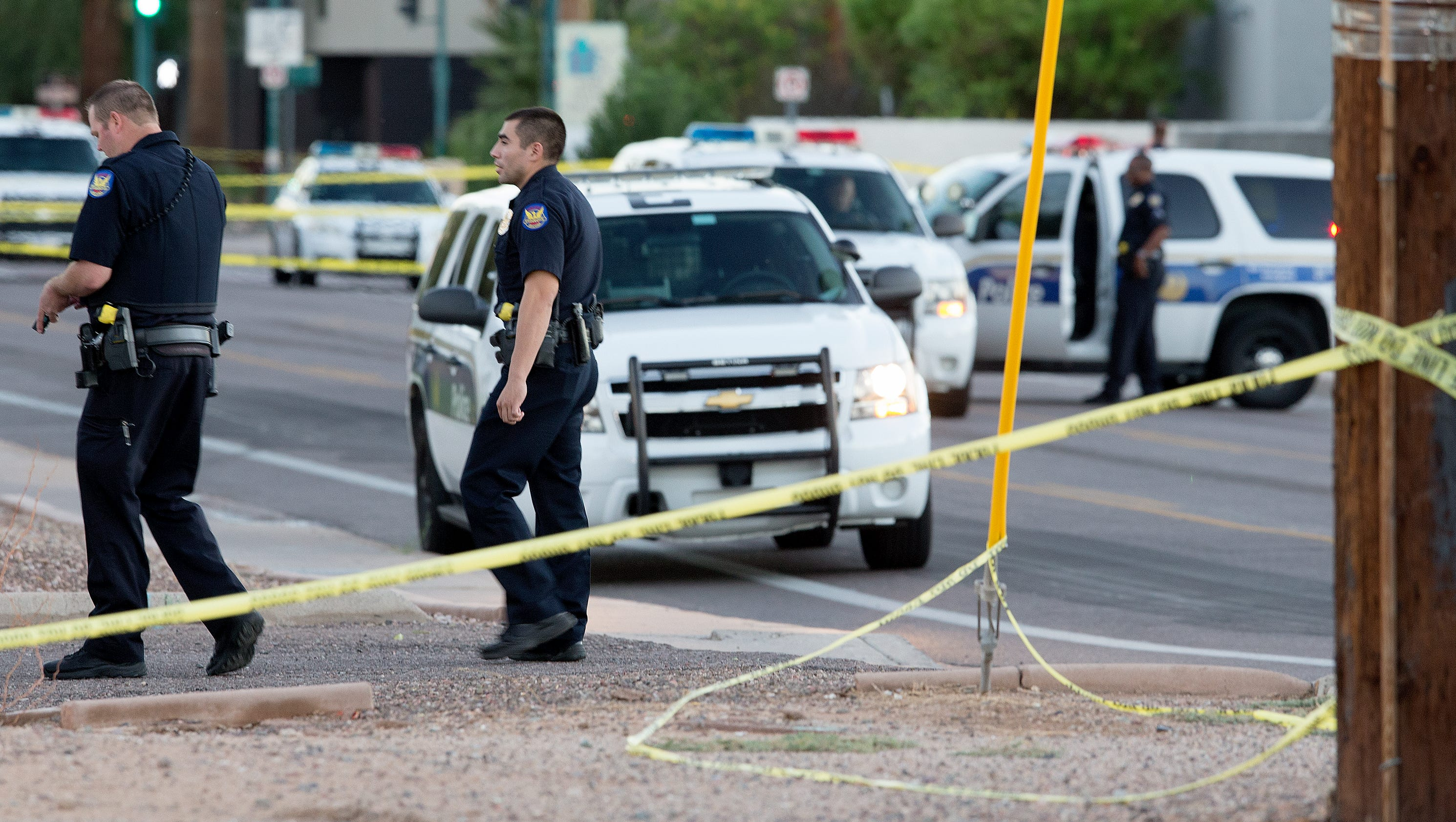 Wounded phoenix officer released from hospital for Today s interiors phoenix