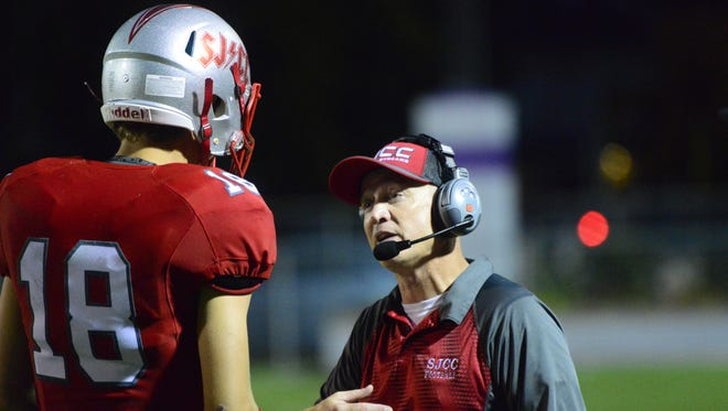 SJCC's Spencer Harrison enters his second season in coach Brian Spicer's offense.