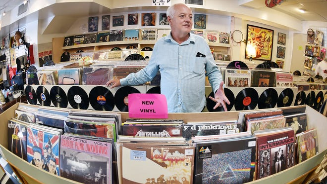 Gidget's Gadgets Retro Emporium owner Steve Fallon will host Dogfish Head's Sam Calagione and The Waco Brothers for Record Store Day Saturday in Rehoboth Beach.