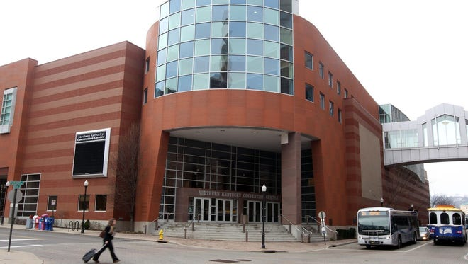 The Northern Kentucky Convention Center.