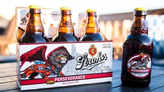 Stroh's to release new IPA Perseverance exclusively