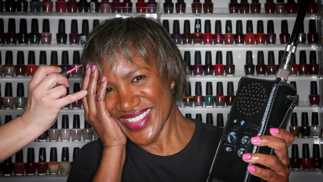 In 1988 Kentucky Derby Festival's executive vice-president and chief of staff was a receptionist.  She wanted a manicure but nobody takes time off during the festival.  However she snuck away to get her nails done.  45 minutes into the appointment she noticed that her leg was getting hot.  She realized that she had keyed the KDF radio for her entire time in the chair and that everyone had heard her conversations and tied up the radio for the entire time.April 14, 2017