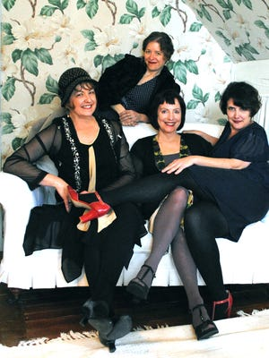 The Magnolia Sisters will perform at Le Grand Hoorah this weekend.