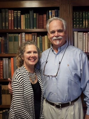 Book lovers Joel and Carol Tomlin are writing their own happily ever after as owners of Landmark Booksellers in Franklin.