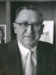 This is an undated photo of Mayor Albert Eugene Cobo.