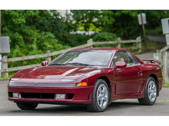 The Mitsubishi 3000GT VR4 was packed with technology including four-wheel steering and active aerodynamics, rarities in 1991.