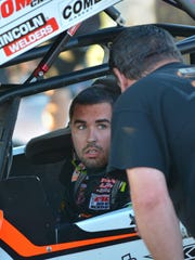 David Gravel has won three of the six World of Outlaws races at Wilmot Raceway.