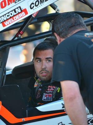 World of Outlaws sprint-car driver David Gravel, who has already won 10 races this season, is out to defend his back-to-back titles at Wilmot Raceway on Saturday night.