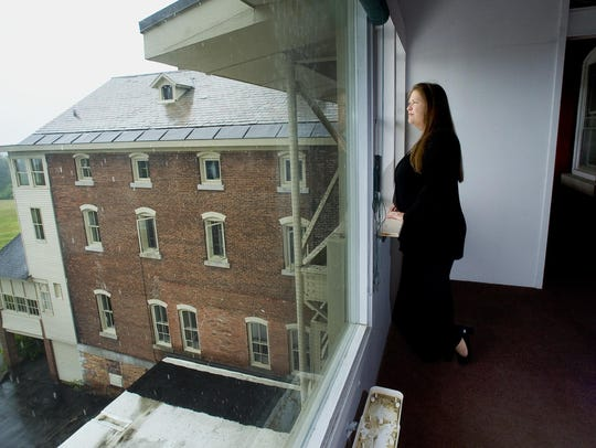 Burlington College President Jane Sanders in the headquarters