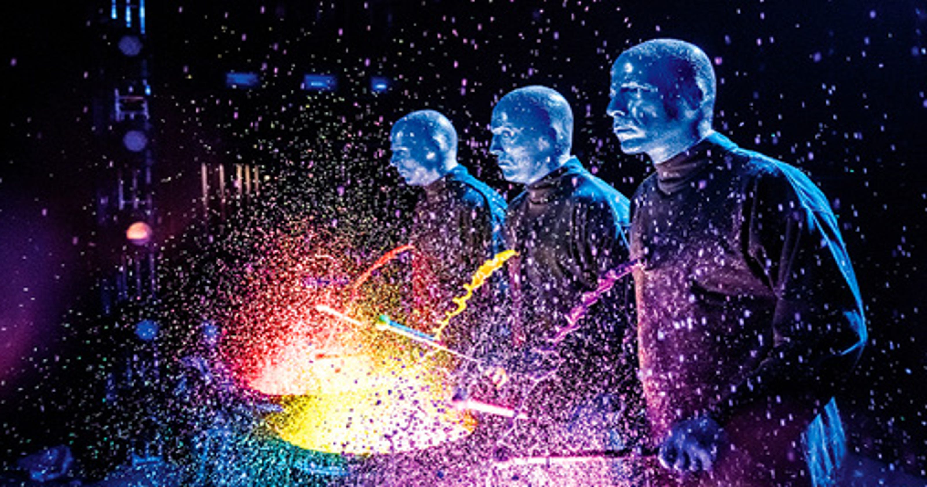See the Blue Man Group from $64!