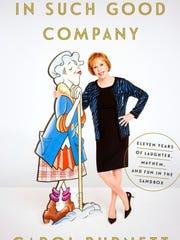 Cover of Burnett's book---'In Such Good Company Eleven