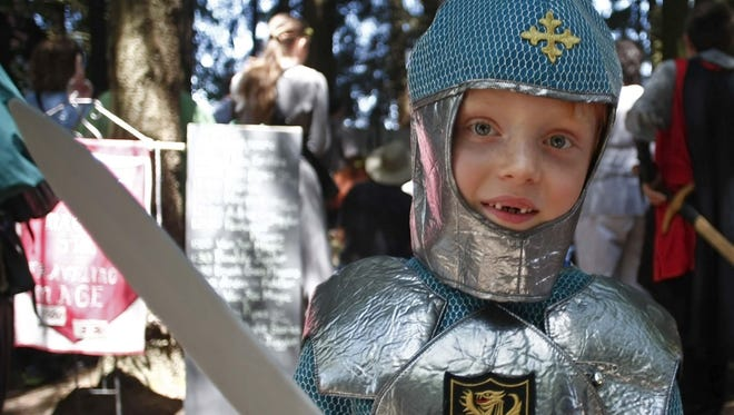 Kids of all ages can get in character at the Canterbury Renaissance Faire during the next two weekends.