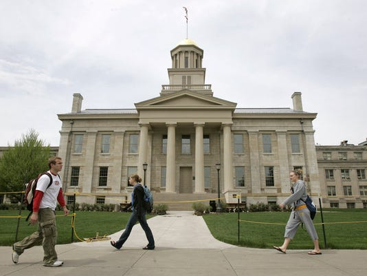 OLD CAPITOL BUILDING IN IOWA CITY
