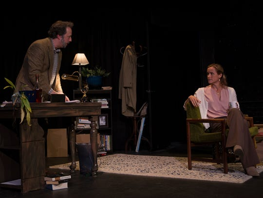 "Andrew Gall and Emily Tynan McDaniel in ""Better Strangers"""